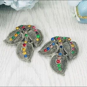 Vintage Art Deco Fruit Salad Dress Clips